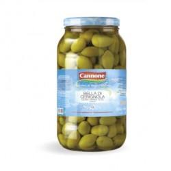 Зелени Маслини с Костилка  Bella Cerignolla