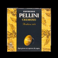 Pellini Cremoso 100% Arabica 10X7,5 g - Dolce Gusto съвместими