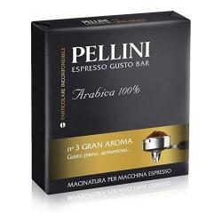 Pellini Gusto bar N3 Gran Aroma 100% Арабика, 2Х250 гр